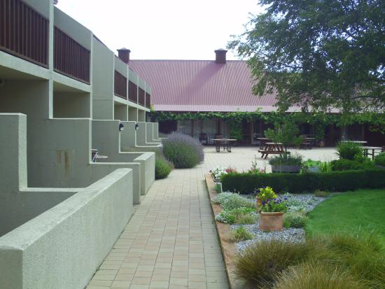 Cromwell, New Zealand: Courtyard