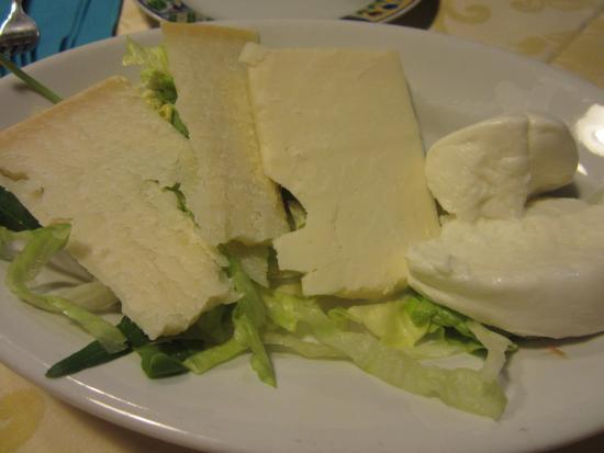 formaggi locali