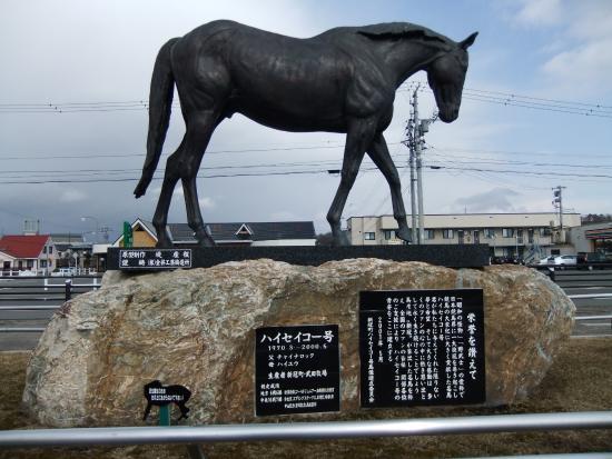 Niikappu-cho, Japón: 名馬ハイセイコー
