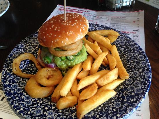 Driffield, UK : Mexican Burger Good Value