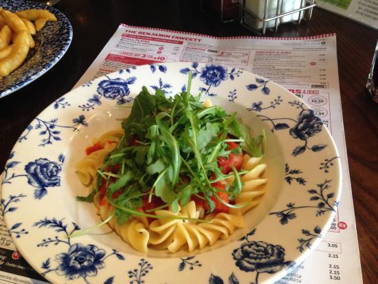 Driffield, UK : Pasta dish