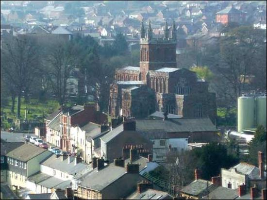 Crediton, UK : Holy Cross