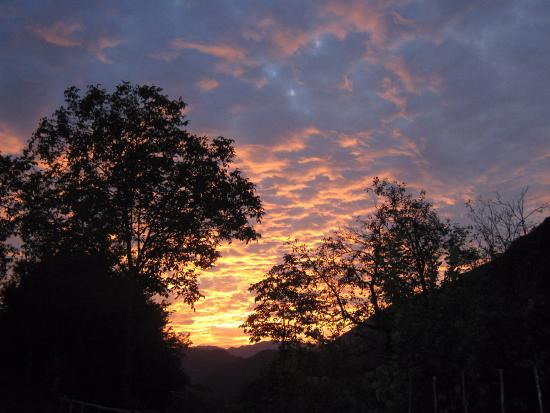 Tolmin, Eslovênia: evening sunset