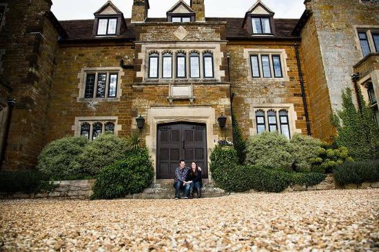 Creaton, UK: Honeymoon suite and fantastic food!