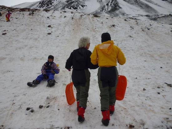 Las Cuevas, Argentina: a usar los culipatin