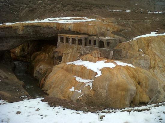 Las Cuevas, Argentina: en invierno