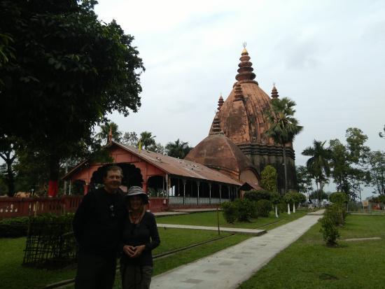 The Lord Shiva Temple, Sivasagar