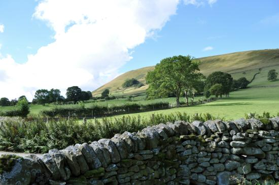 Edale, UK: The view from your tent