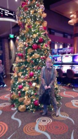 Chandler, AZ : Рождественская елка в казино