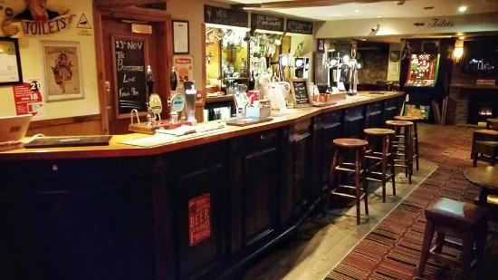 Thirsk, UK: The Frankland bar