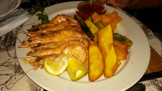 Wilderness, Afrique du Sud : Prawns Ibiza