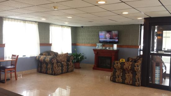 Days Inn Wilkes Barre: Sitting Area