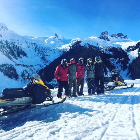 Great Photo Spots Along The Way Blackcomb Snowmobile Whistler Tripadvisor