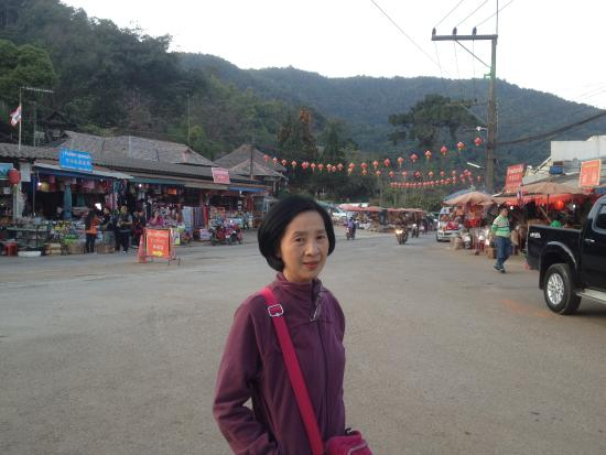 Doi Mae Salong: mid small town
