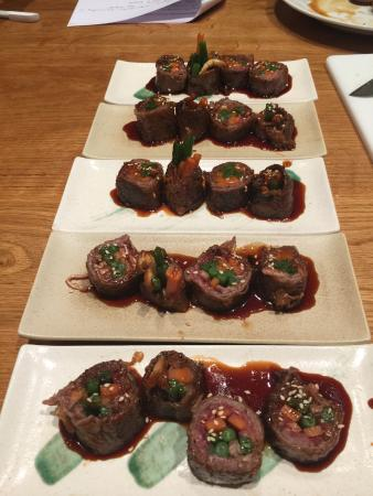 Hashi Cooking : Beef and Vegetable Rolls