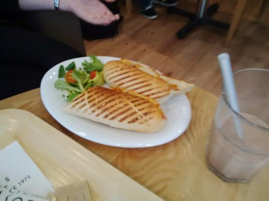 Eastleigh, UK: Ham and Cheese Panini