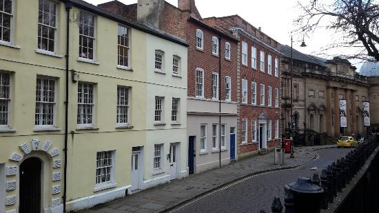The Lace Market Centre: High Pavement Street