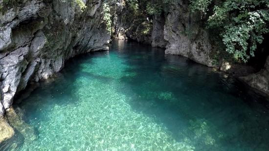 Bagni di Lucca, Ιταλία: the Blue Lagoon