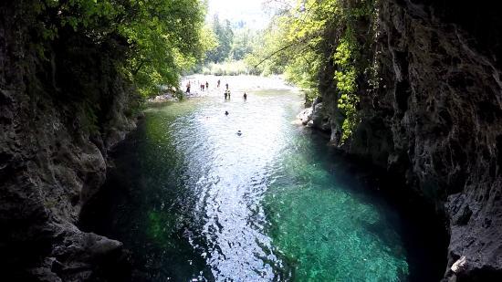 Aqua trekking picture of canyon park adventure park - Bagno di lucca ...