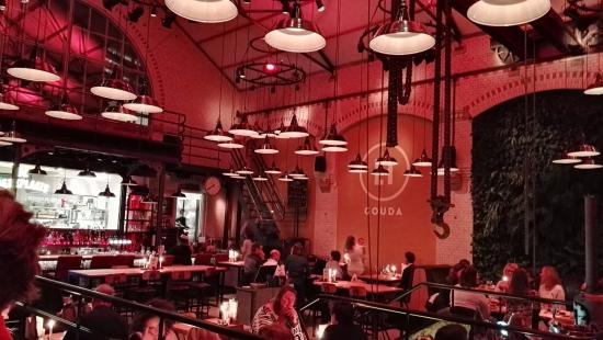 Restaurant van LF Gouda (Lichtfabriek Gouda)