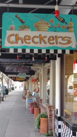 Checker's: Right on the main street