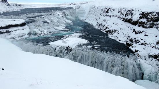 Mosfellsbaer, ไอซ์แลนด์: Gullfoss Waterfall