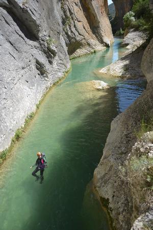 Aleu, France: Canyoning en eaux claires ;-)