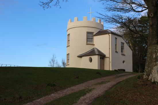 Monmouth, UK: The Round House on the Kymin.