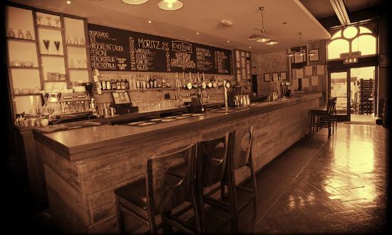 Hanley, UK: The Bar