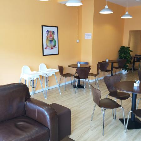Heswall, UK: Seating Area