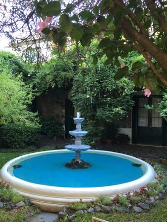 Posada Plaza Mayor: Jardim no meio da pousada