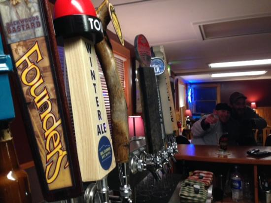 Long Lake, NY: Draft Lineup is always rotating to try fun new beers
