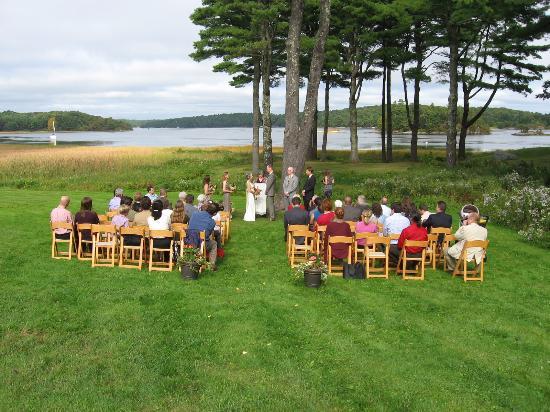Phippsburg, ME: Wedding at the 1774 Inn
