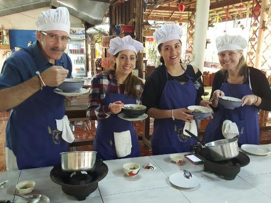 Saraphi, Thailand: Cook Thai Food by own taste