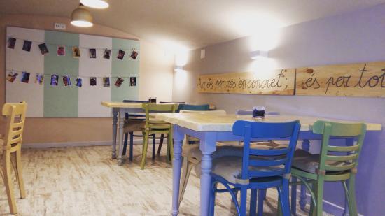 Selva, Hiszpania: Restaurant