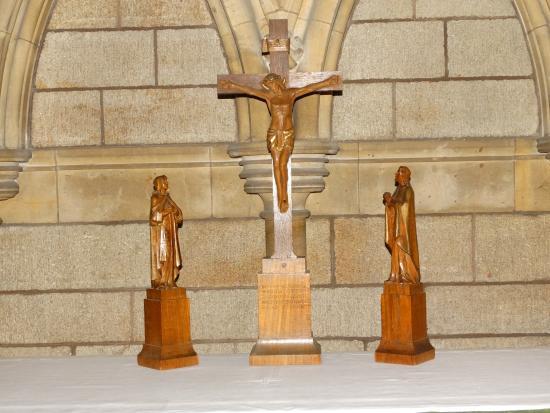Truro, UK: jesus on the cross