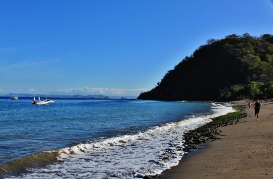 Hotel Riu Guanacaste Beach In Front Of Looking Ne At Low Tide