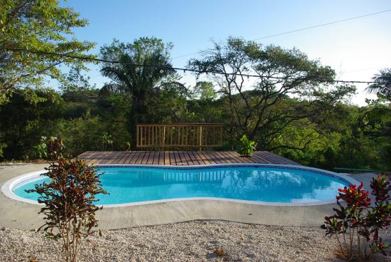 Nicoya, คอสตาริกา: Our pool and deck
