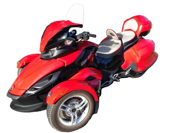 Rocklin, Kalifornia: RS Can Am Spyder
