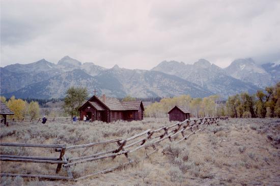 Moose, Ουαϊόμινγκ: site