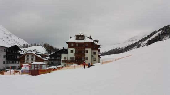 Chalet Christophorus: View from the Piste.