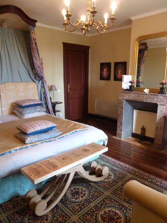Belves-De-Castillon, Francja: Double Bedroom Greuze