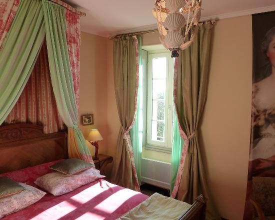 Belves-De-Castillon, Γαλλία: Cottage Fragonard bedroom Nattier