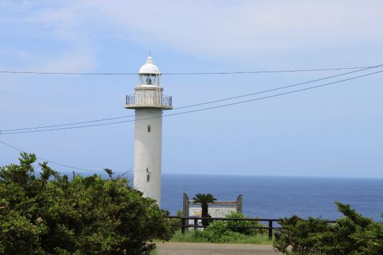 Cape Tamina: 田皆岬の灯台