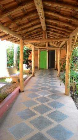 Jaguariuna: caminho para o banheiro