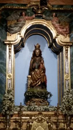 Monasterio de Fitero: Imágen de la Patrona