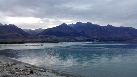 Glenorchy, Selandia Baru: Lake view from the restaurant