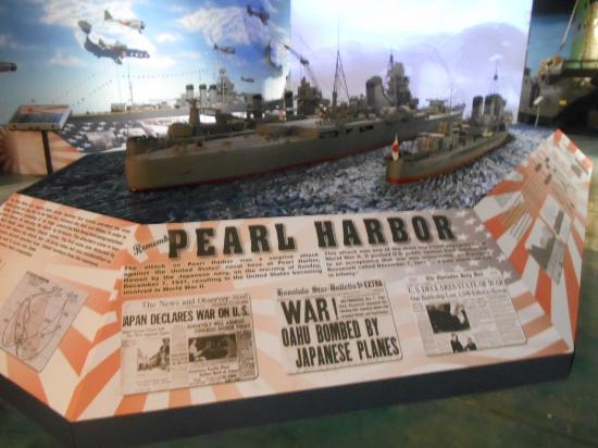 Largo, FL: Pearl Harbor Display