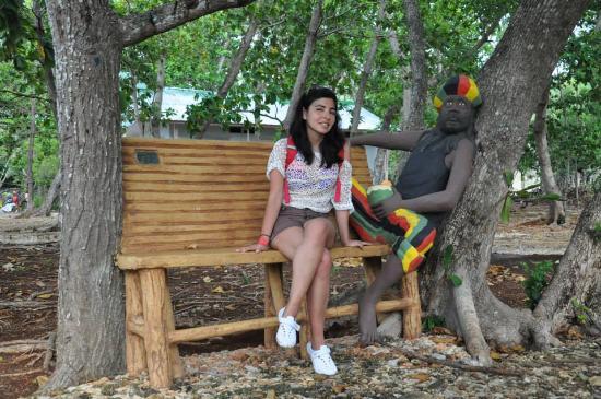 Parque Tematico El Pueblito Isleño San Andres: Yo posando