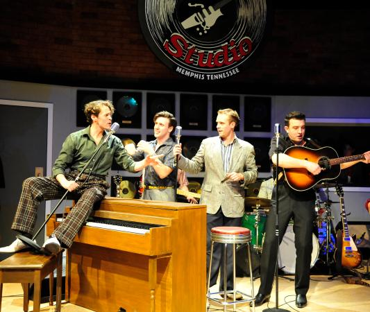 Chemainus, Kanada: Elvis, Jerry, Carl, and Johnny
